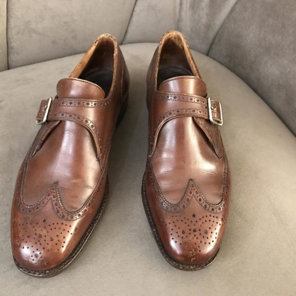 derbies weston en cuir marron pointure 40 disponibles au depot-vente de luxe le fermoir de mon sac le havre