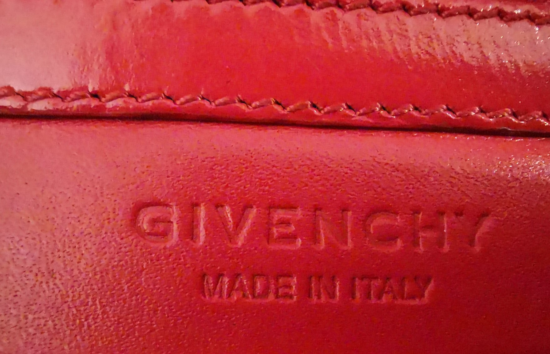 Pochette Givenchy Rouge Marque