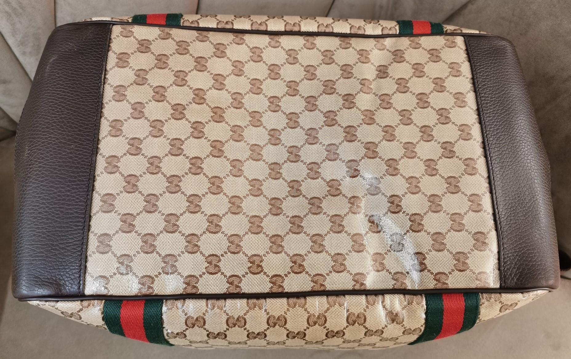 Gucci Sac Weekend Dessous